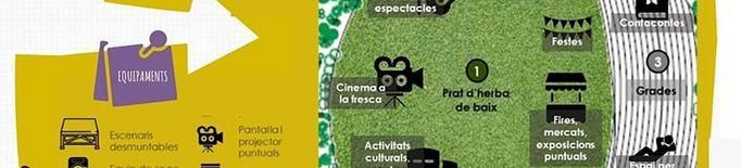 Més de cent propostes per al parc urbà de Linyola