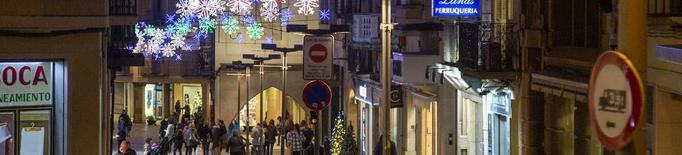 Estrena de llums nadalencs a Tàrrega i Mollerussa