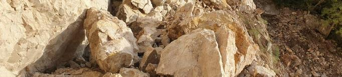 La Diputació repara el camí de Mont-rebei