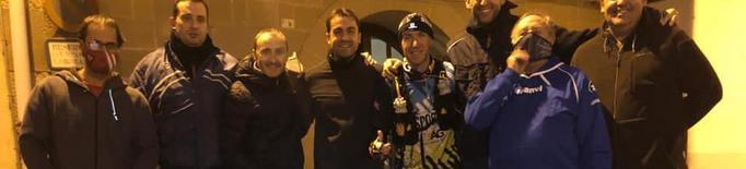 Raül Arenas arranca el seu repte de córrer 200 quilòmetres per AFANOC