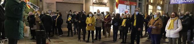 Marxa a Lleida per la llibertat dels independentistes presos