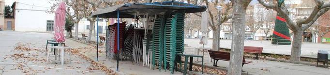 Linyola manté tancades instal·lacions esportives i guarderia fins a Cap d'Any