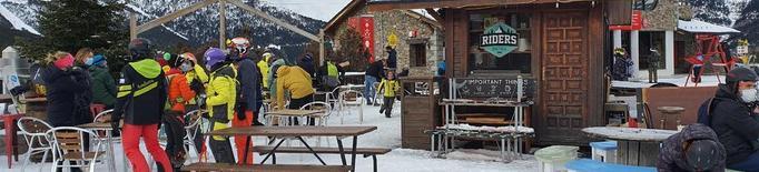 El Pirineu aprofita el ple de Cap d'Any i preveu la resta del mes fluix en reserves