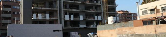 La construcció de pisos baixa un 49% entre el gener i el setembre del 2020