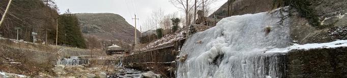 Totes les capitals de Lleida sota zero i cadenes a la Bonaigua per la neu