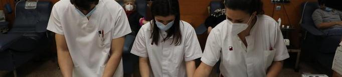 La Marató de Sang supera els 400 donants a Lleida