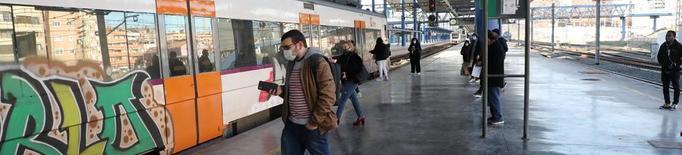 Bitllets sense cobrar i viatgers no comptats en trens de Lleida