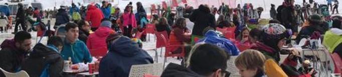 El Pirineu, al 50 per cent d'ocupació a partir d'aquest dimecres