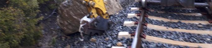 FGC inverteix 50.000 € i repara un tren danyat per una allau