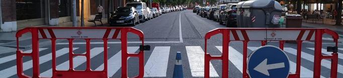 Lleida manté quinze carrers tallats al trànsit aquest cap de setmana