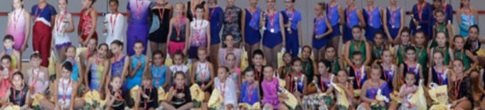 Gran èxit de participació en la Final d'Iniciació de patinatge artístic de la territorial