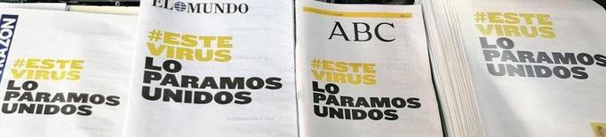 'Aquest virus el parem units': La campanya publicitària del govern espanyol per frenar el coronavirus