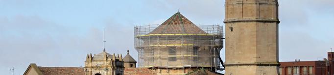 El cimbori de l'Església Parroquial de Santa Maria de l'Alba, actualment en procés de restauració, torna a lluir careners ceràmics vidriats al seu exterior. Després que els treballs de reparació posessin al descobert dos d'aquests elements originals que r