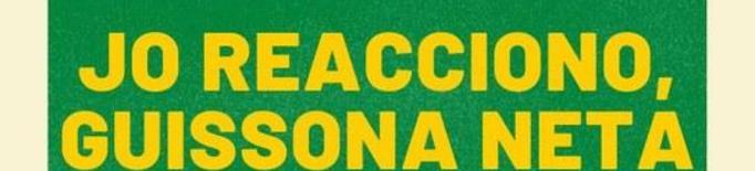 """Guissona inicia la campanya """"Jo reacciono, Guissona neta"""""""