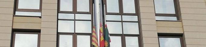 Banderes a mig pal al Consell Comarcal del Segrià