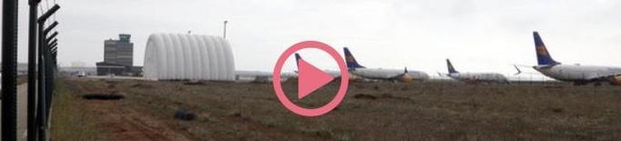 ⏯️ La Covid-19 deixa a Alguaire sense vols d'esquiadors aquest hivern