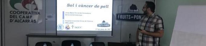 Cinc dermatòlegs i investigadors de Lleida participen en la campanya Euromelanoma 2018 sobre càncer de pell