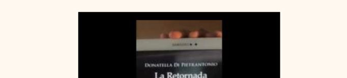Aquesta setmana l'Eva recomana La Retornada de Donatella Di  Pietrantonio