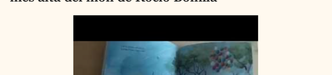 Llibre de Rocio Bonilla en 'Contes amb la Glòria'