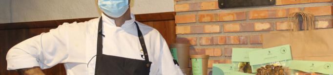 Un xef lleidatà presenta un menjar per emportar gurmet perquè el comensal també 'sigui el xef'