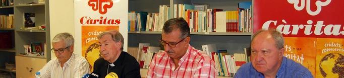 Càritas Diocesana de Lleida registra un augment del 65% de les demandes de necessitats bàsiques