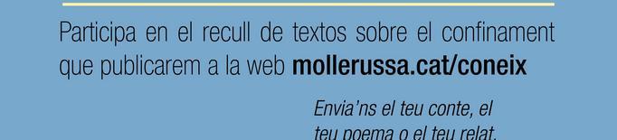 Mollerussa incentiva a la ciutadania a escriure sobre el confinament per editar un llibre amb fins solidaris