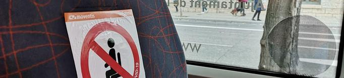 Els autobusos de Lleida perden la meitat d'usuaris en 8 mesos de pandèmia