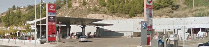 Detingut un home per atracar una benzinera a Lleida