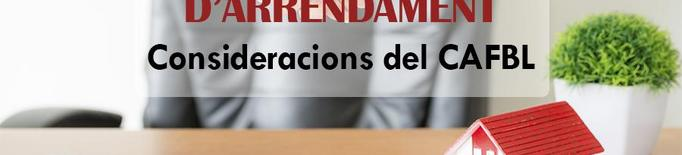 """Els administradors de finques de Barcelona - Lleida demanen dotar d'un """"suport de renda"""" a les famílies i negocis"""