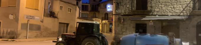 Castelldans també desinfecta els carrers