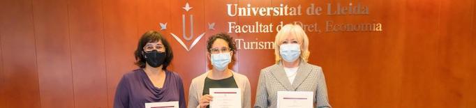 Tres dones, millors docents de la Facultat de Dret, Economia i Turisme