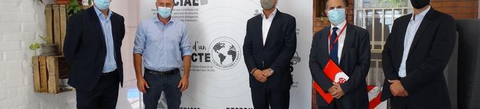 Donació de CaixaBank per al projecte d'inserció sociolaboral Ós Rentador del CET El Pla