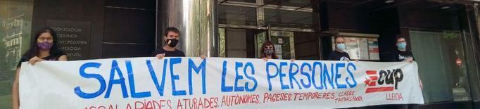 La CUP de Lleida proposa un Ingrés Universal per a les persones confinades del Segrià