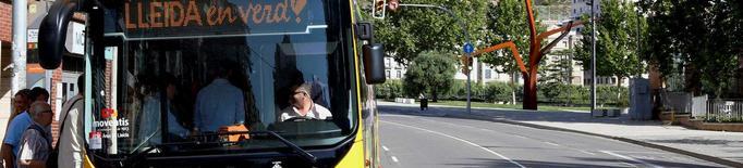 Canvi d'horaris i freqüències als autobusos de Lleida
