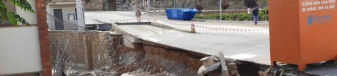 Voluntaris de Protecció Civil de Lleida participen en la recerca dels desapareguts per les pluges torrencials