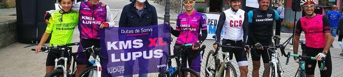 L'aranès Pep Vega culmina el desafiament de 275 km fins a Vielha
