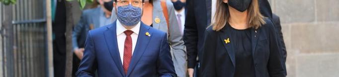 Aragonès substitueix Torra com a president de la Generalitat