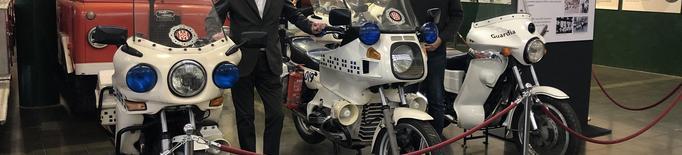 El museu Roda Roda incorpora a la seva col·lecció 4 motos més de la Guàrdia Urbana