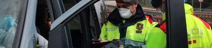 Arxiu Mossos control carretera mascareta
