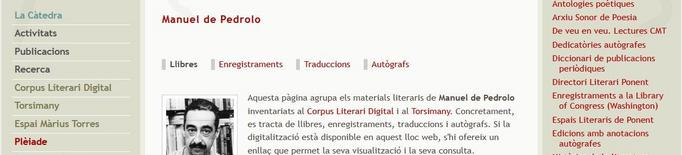 El Pedrolo censurat, al Corpus literari digital de la UdL