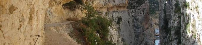 El Congost de Mont Rebei, una experiència no apta per a vertiginosos
