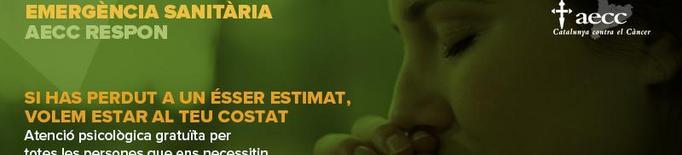 L'AECC Lleida ofereix acompanyament al dol durant l'emergència sanitària