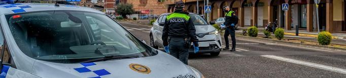 Detingut per agredir als agents de policia de Mollerussa