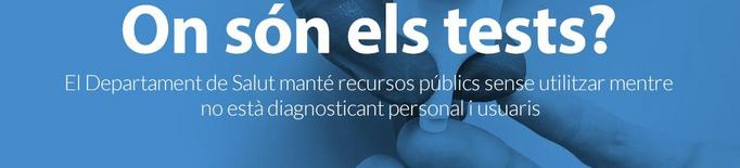"""La Marea Blanca acusa Salut de """"no mobilitzar tots els recursos"""" per fer tests PCR a la demarcació de Lleida"""