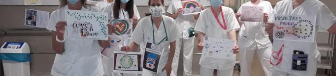 Arnau de Vilanova dibuixos cartes animar sanitaris pacients