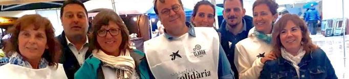 Caracolada solidària de la FECOLL a la Fira de Sant Ermengol