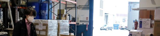 Surten els primers enviaments dels EPIS importats per Afrucat des de la Xina