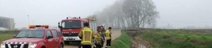 Cauen amb el cotxe en una sèquia quan fugien en ser sorpresos caçant il·legalment ocells a Vallfogona de Balaguer