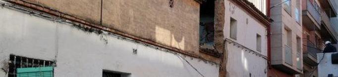 La Paeria enderroca subsidiàriament l'edifici esfondrat del Secà del Sant Pere