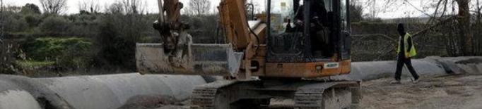 El Canal d'Urgell, a punt de finalitzar les reparació dels danys dels aiguats